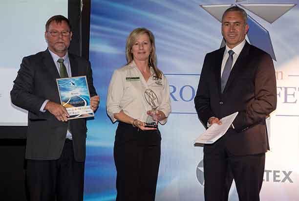 TMR recipients at the Australian Road Safety Awards