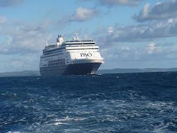 Pacific Aria cruise ship